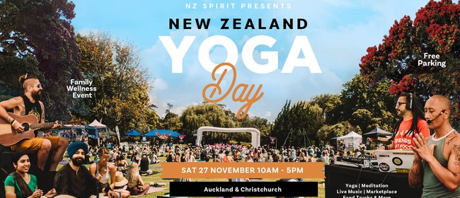 NZ Yoga Day 2021 - Auckland