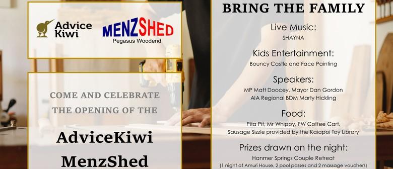 AdviceKiwi MenzShed Opening Night