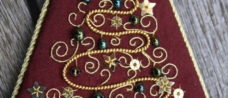 Goldwork - Christmas Tree