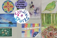 Explore Watercolours with Studio Sparks