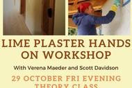 Lime Plaster Hands-on Workshop