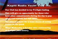 Kāpiti Radio Yacht Club Twilight Sailing