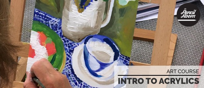 Intro To Acrylic Painting (Art Course)
