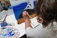 Beginner's Acrylic Art Class