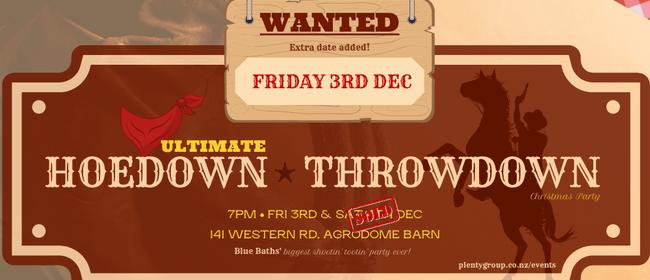 Ultimate Hoedown Throwdown
