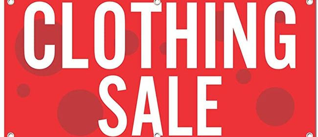 Pop-Up Clothing Sale