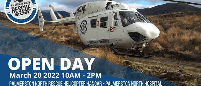 Palmerston North Rescue Helicopter Open Day 2022