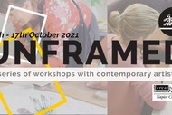 Unframed Artist Workshops with The Pencil Room