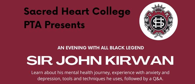 An evening with All Black legend, Sir John Kirwan: POSTPONED