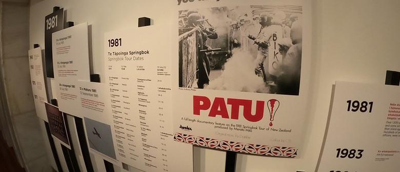 TOHE   PROTEST Exhibition – The '81 Springbok Tour