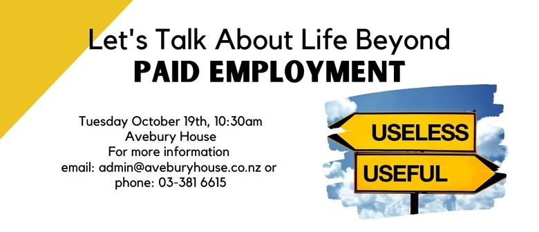 Let's Talk About Life Beyond Paid Employment