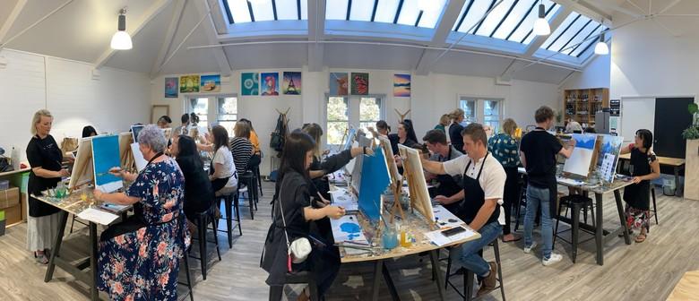 Paint & Sip Studio - Open Paint