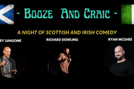 Image for event: Booze and Craic - A Night of Scottish and Irish Comedy