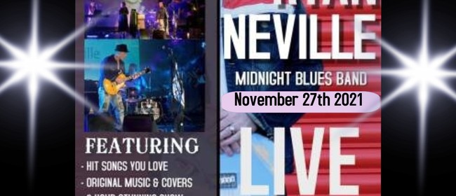 Blues Cabaret with Ryan Neville & The Midnight Blues Band