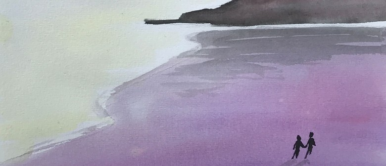 Watercolour and Wine Night - Early Morning Walk - Paintvine