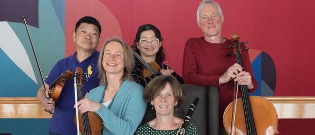 Aroha String Quartet with Rachel Vernon (Clarinet): POSTPONED