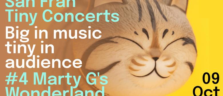 San Fran Tiny Concerts: Martin Greshoff
