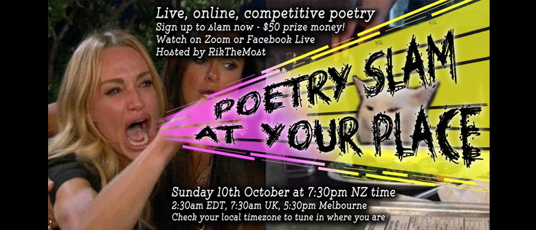 Poetry Slam at Your Place - event #48