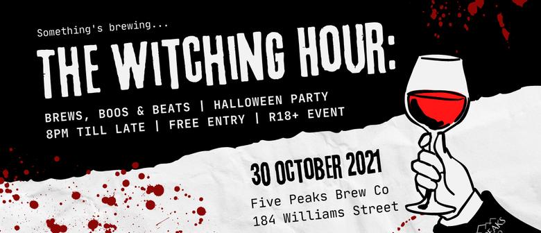 Halloween Party: Brews, Boos & Beats