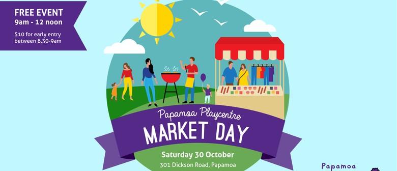 Papamoa Playcentre Market Day