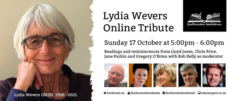 An Addicted Reader - An Online Salute to Lydia Wevers: POSTPONED
