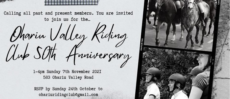 Ohariu Valley Riding Club 50th Anniversary