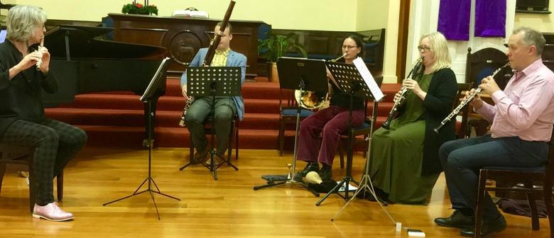 """RNZAF Wind Quintet """"The Spitfires"""""""