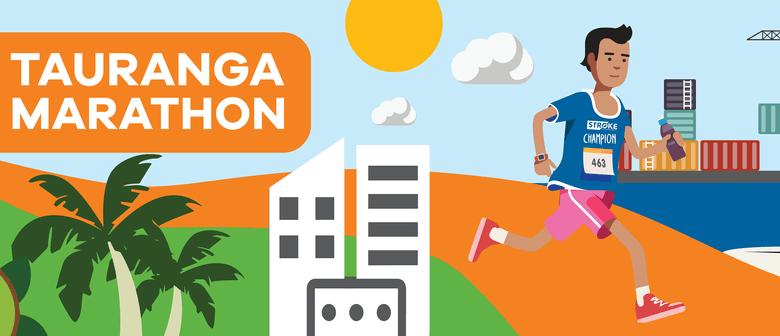 Stroke Foundation at Tauranga Marathon 2021