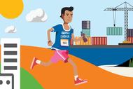 Image for event: Stroke Foundation at Tauranga Marathon 2021