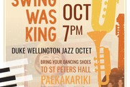 Image for event: 1940s When Swing was King - Duke Wellington Jazz Octet