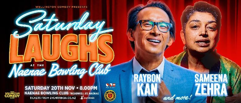 Saturday Laughs at the Naenae Bowling Club