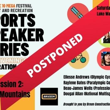 Mitre10 Mega Festival of Sport & Rec Speaker Series #2: POSTPONED