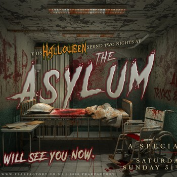 Fear Factory Queenstown's Night at the Asylum