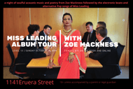 Image for event: Live music Miss Leading and Zoe Mackness