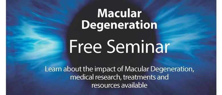 Seminar on Macular Degeneration - TAUPO