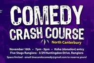 Comedy Crash Course - Rangiora