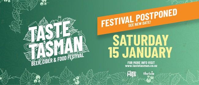 Taste Tasman - Beer, Cider & Food Festival 2022