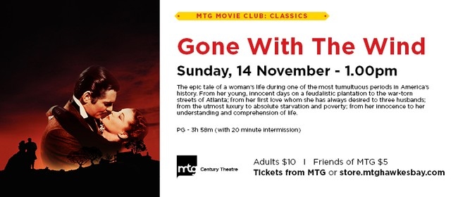 MTG Movie Club - Gone With The Wind