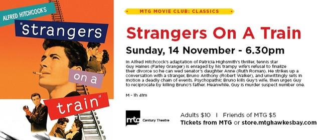 MTG Movie Club - Strangers On A Train
