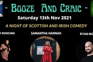 Booze and Craic - A Night of Scottish and Irish Comedy: CANCELLED