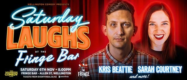 Saturday Laughs at Fringe Bar