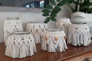 Macrame Jars Workshop