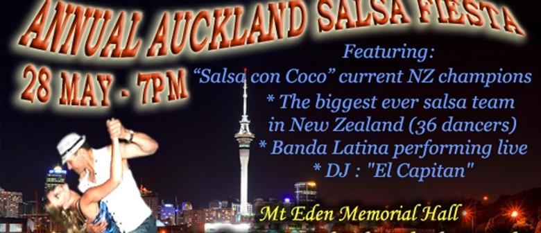 Annual Auckland Salsa Fiesta: Salsa Extravaganza