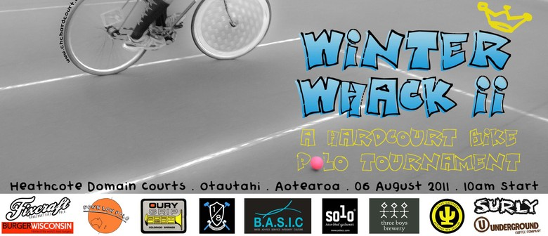 Hardcourt Bike Polo Tournament - Winter Whack II