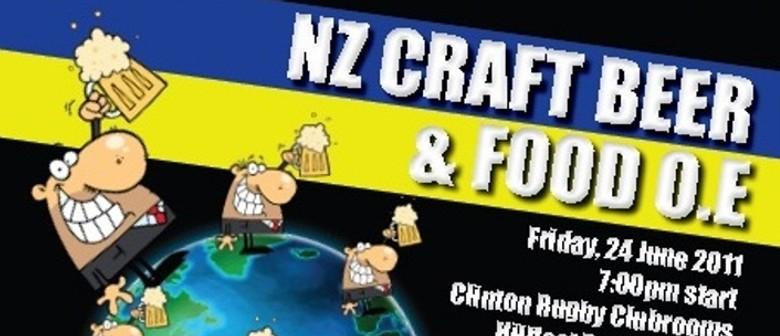 NZ Craft Beer & Food OE
