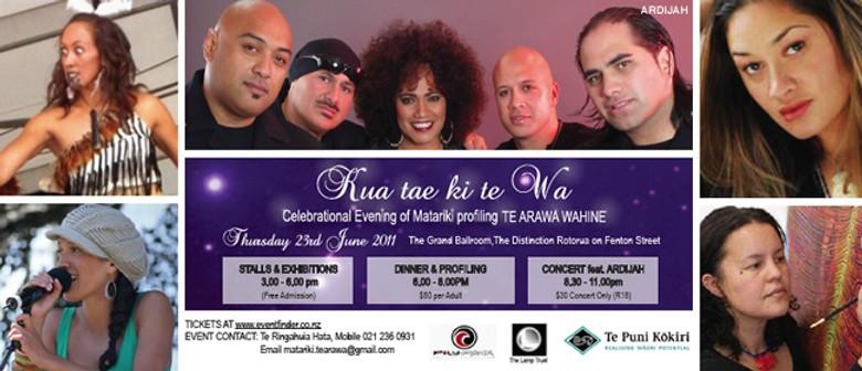 Ardijah & An Evening with Te Arawa Women in Matariki