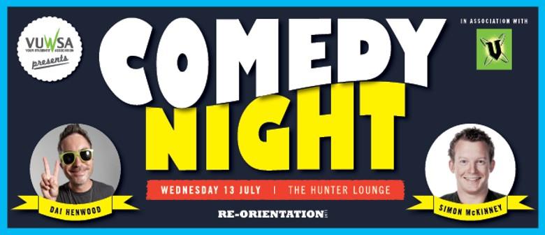 Dai Henwood & Simon McKinney - Comedy Night