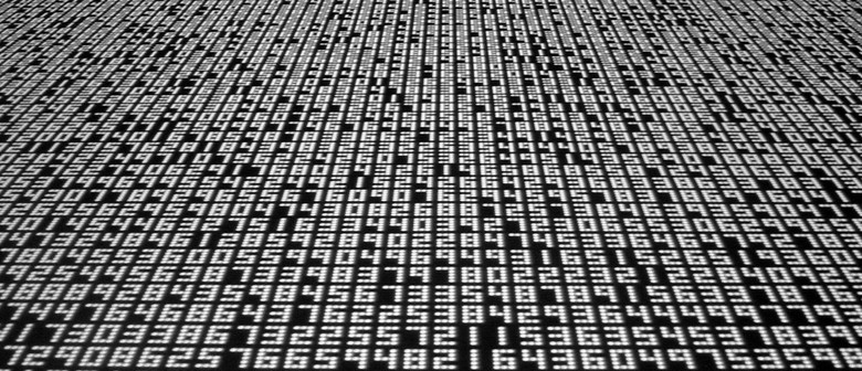 Shustak: Stuart Page and data.tron (Prototype) : Ryoji Ikeda