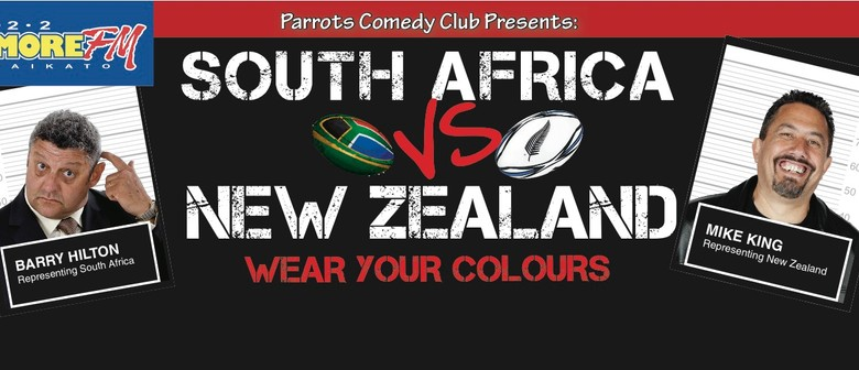 South Africa (Barry Hilton) vs. New Zealand (Mike King)
