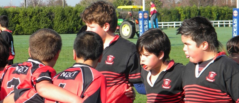 Heart of the Community - Rugby Photo Display